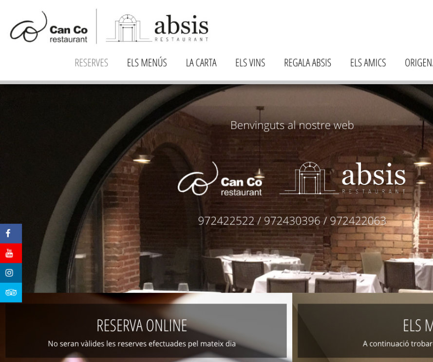 Restaurant Can Co / Absis Restaurant